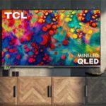 QLED-телевизор TCL 6-й серии 2020 года с MiniLED (55R635, 65R635, 75R635).